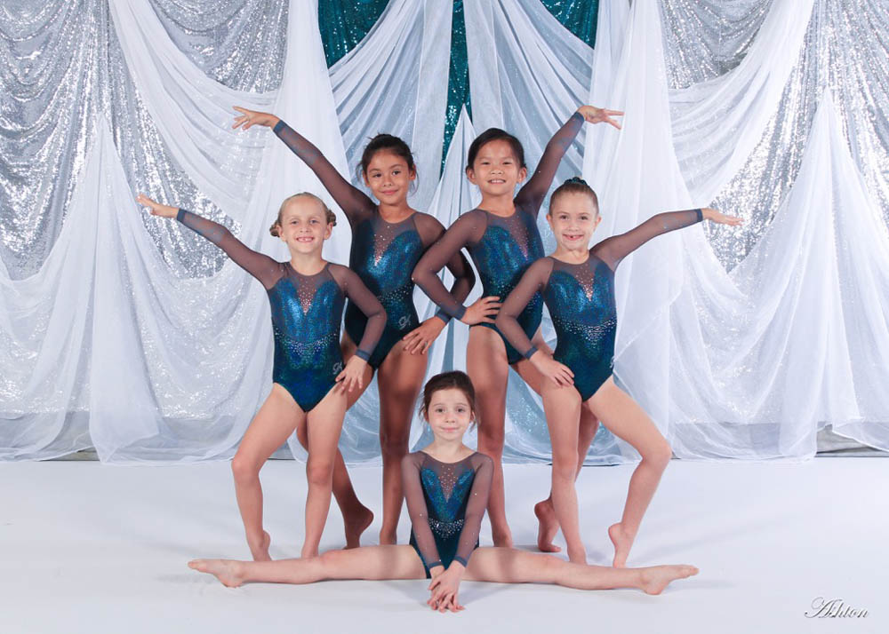 Baldwin Park Level 1 Gymnasts