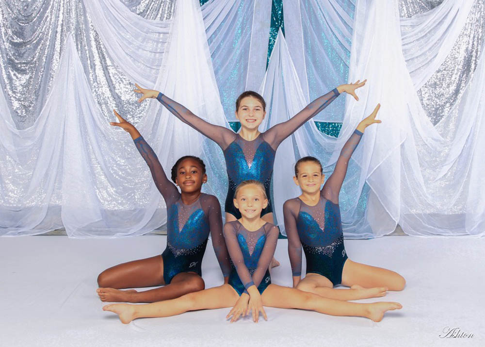 Baldwin Park Level 3 Gymnasts