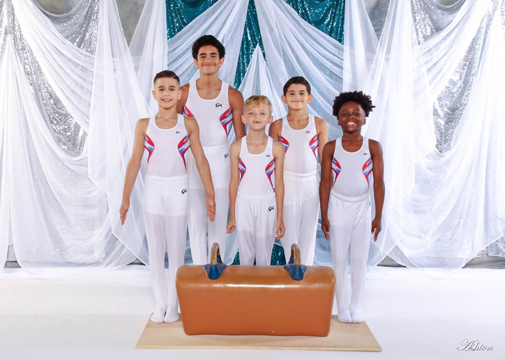 LB McLeod Boys Gymnastic Team